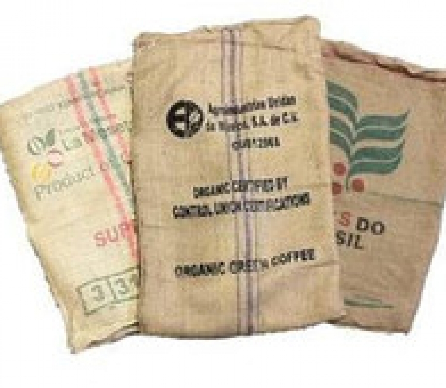 Used Coffee Bags